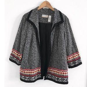 Open blazer jacket cardigan plus size 20W